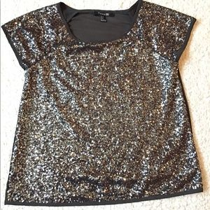 Forever21 Sequins Top